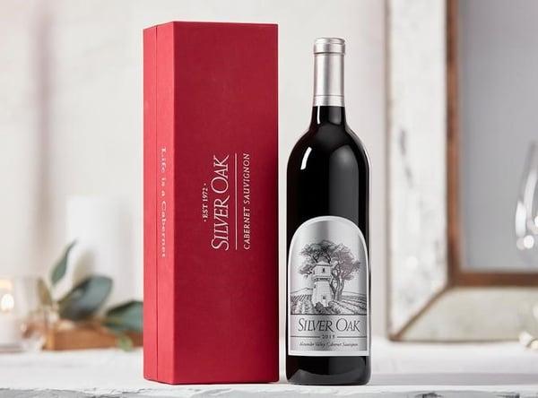 10 silver oak wine