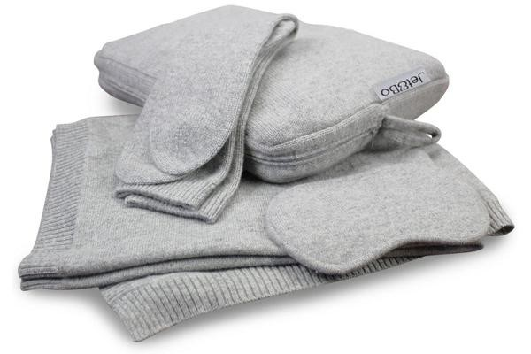 4 cashmere blanket set