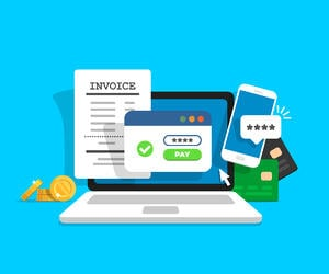 pay invoice online from laptop