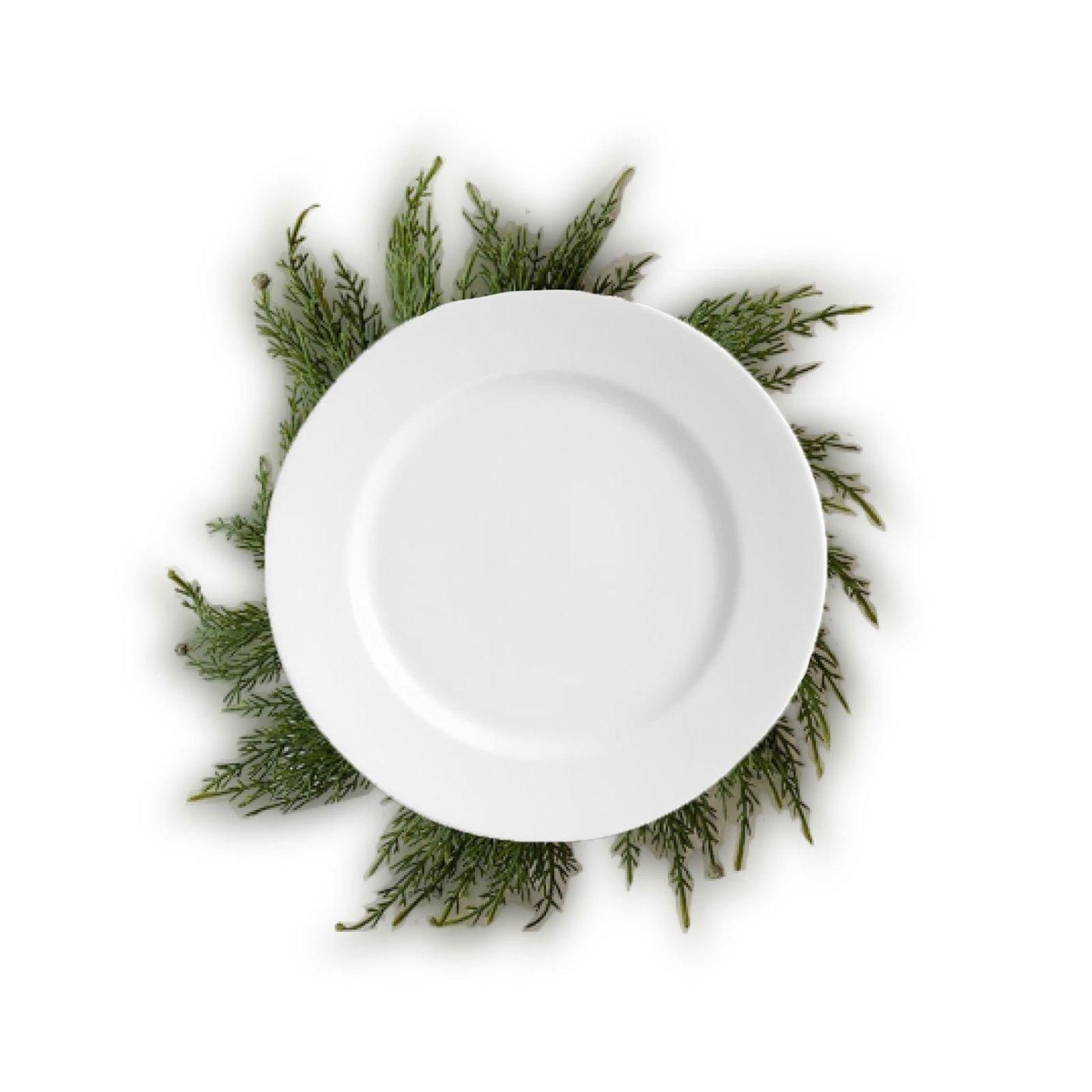 Cedar-Wreath-Charger