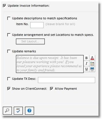 Invoice Adjustment 3