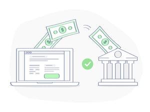 online bank transfer